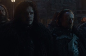 Game of Thrones season 5 Jon Snow night's watch