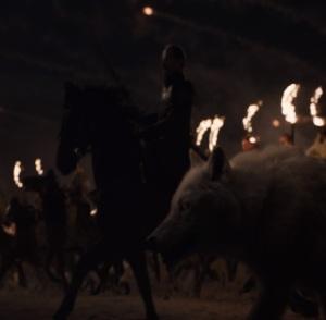 Game of Thrones final season ghost vs wights