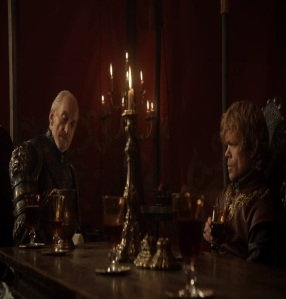 Tyrion Lannister made hand of the king by tywin Lannister game of Thrones HBO