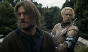 Game of Thrones season 3 Jamie Lannister and brienne of tarth