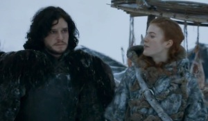Game of Thrones season 3 Jon Snow and Ygritte