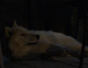 Game of Thrones season 6 direwolf ghost