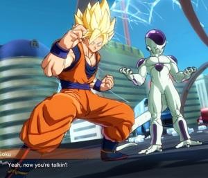 Goku and Frieza team dragon Ball FighterZ Nintendo Switch Xbox One PS4