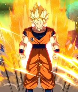 Super Saiyan goku dragon Ball FighterZ Nintendo Switch Xbox One PS4