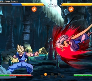 Goku vs Evil Android 21 dragon Ball FighterZ Nintendo Switch Xbox One PS4