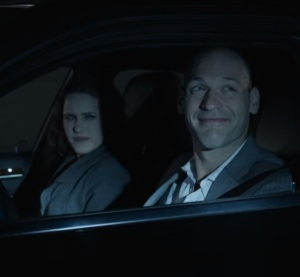 Peter Russo and Rachel posner House of Cards Netflix