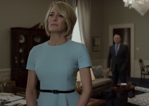 House of Cards Claire Underwood becomes president of the United States of America