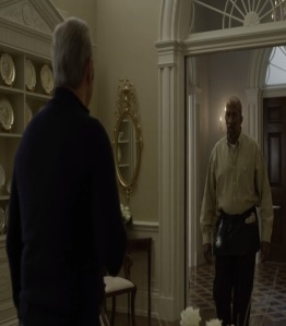 Freddy Hayes quits working for president frank Underwood house of cards Netflix