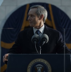 President Garrett walker inauguration  house of Cards Netflix
