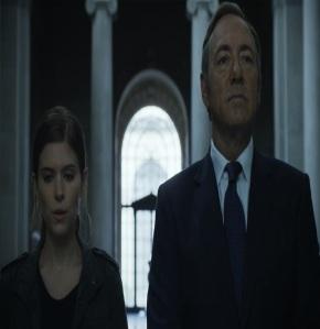 Zoe Barnes and frank Underwood house of Cards Netflix Kate Mara