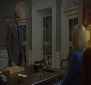 House of Cards Doug Stamper tries to murder Claire Underwood Netflix