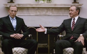 House of Cards Russian president in white house Netflix