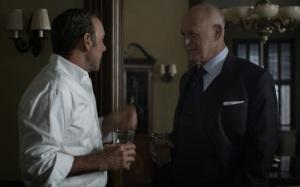 House of Cards Frank Underwood and Raymond Tusk Netflix