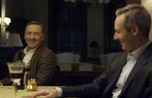 House of Cards President Garrett walker and vice president frank Underwood netNetflix
