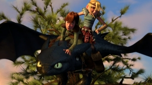 Hiccup meets toothless How To Train Your Dragon