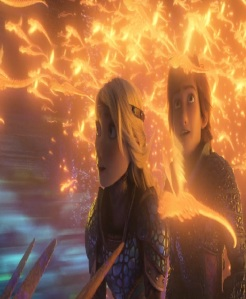 Astrid and hiccup How to Train Your Dragon: The Hidden World