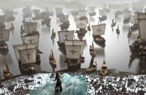Viking ships How to Train Your Dragon 2