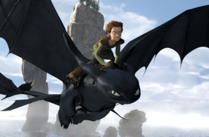 Hiccup flying toothless How To Train Your Dragon