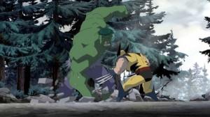 Logan sees the hulk in Canada Hulk Vs Wolverine