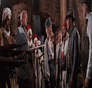 Elsa Schneider working with the germans Indiana Jones and the Last Crusade