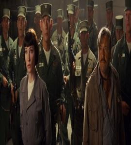 Irina Spalko and Soviet troops Indiana Jones kingdom of the crystal skull