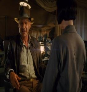 Indiana Jones captured by Irina Spalko Indiana Jones kingdom of the crystal skull