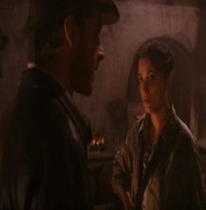 Marion Ravenwood and Indiana Jones Indiana Jones raiders of the Lost ark