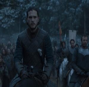 Jon Snow battle of the bastards game of Thrones HBO