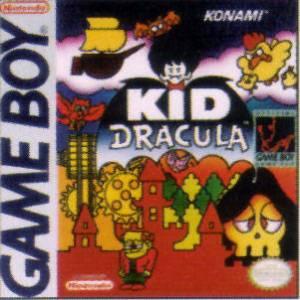 Kid Dracula Nintendo game boy boxart