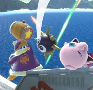 King Dedede vs jigglypuff super Smash Bros ultimate Nintendo Switch