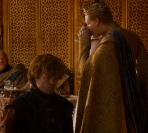 Tyrion Lannister purple wedding game of Thrones