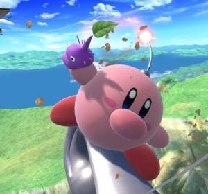 Kirby as captain olimar super Smash Bros ultimate Nintendo Switch Pikmin