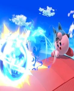 Kirby as Lucario super Smash Bros ultimate Nintendo Switch Pokémon