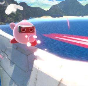 Kirby as R.O.B. Super Smash Bros ultimate Nintendo Switch