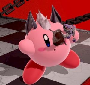 Kirby as wolf super Smash Bros ultimate Nintendo Switch Starfox