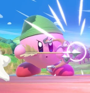 Kirby as Toon Link super Smash Bros ultimate Nintendo Switch