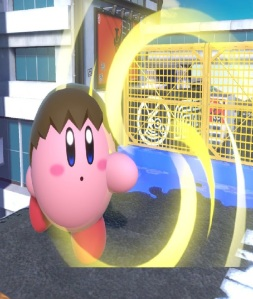 Kirby as villager super Smash Bros ultimate Nintendo Switch animal crossing