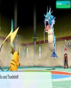 Gyrados Lance pokemon let's go Pikachu Eevee Nintendo Switch