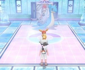 Elite four Lorelei Pokemon Let's Go Pikachu/Eevee Nintendo Switch