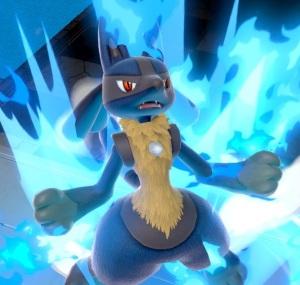 Lucario super Smash Bros ultimate Nintendo Switch Pokémon