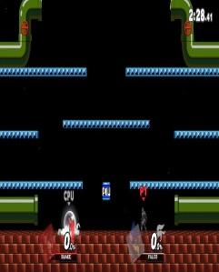 Mario Bros. Stage super Smash Bros ultimate Nintendo Switch