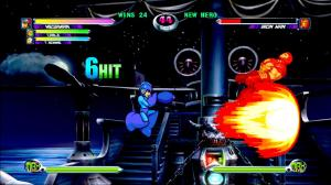 Mega Man vs iron man Marvel VS. Capcom 2
