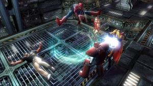 Spider-man iron man dr strange Marvel Ultimate Alliance Xbox 360 ps3