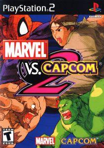 Marvel VS. Capcom 2 ps2 boxart Capcom