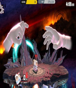Master Hand and Crazy Hand super Smash Bros ultimate Nintendo Switch