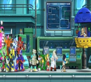 Dr wily steals dr lights robots Mega Man 11 Nintendo Switch Xbox One PS4 Capcom