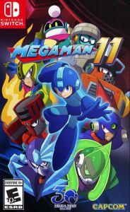 Mega Man 11 Nintendo Switch boxart Capcom