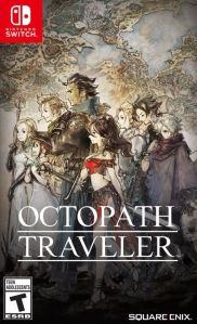 Octopath Traveler Nintendo Switch SquareEnix boxart