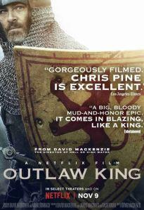 Outlaw King movie poster David MacKenzie Netflix