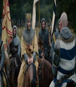 Robert de Bruce vs English army outlaw King Netflix